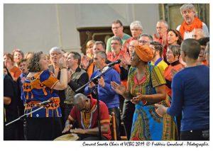 Concert avec Soweto Choir 10 novembre 2019