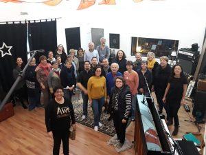 Session d'enregistrement au Parachute Studio 25/01/2019